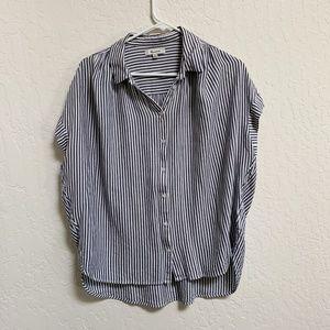 Madewell Central Shirt in Gabriel Stripe M